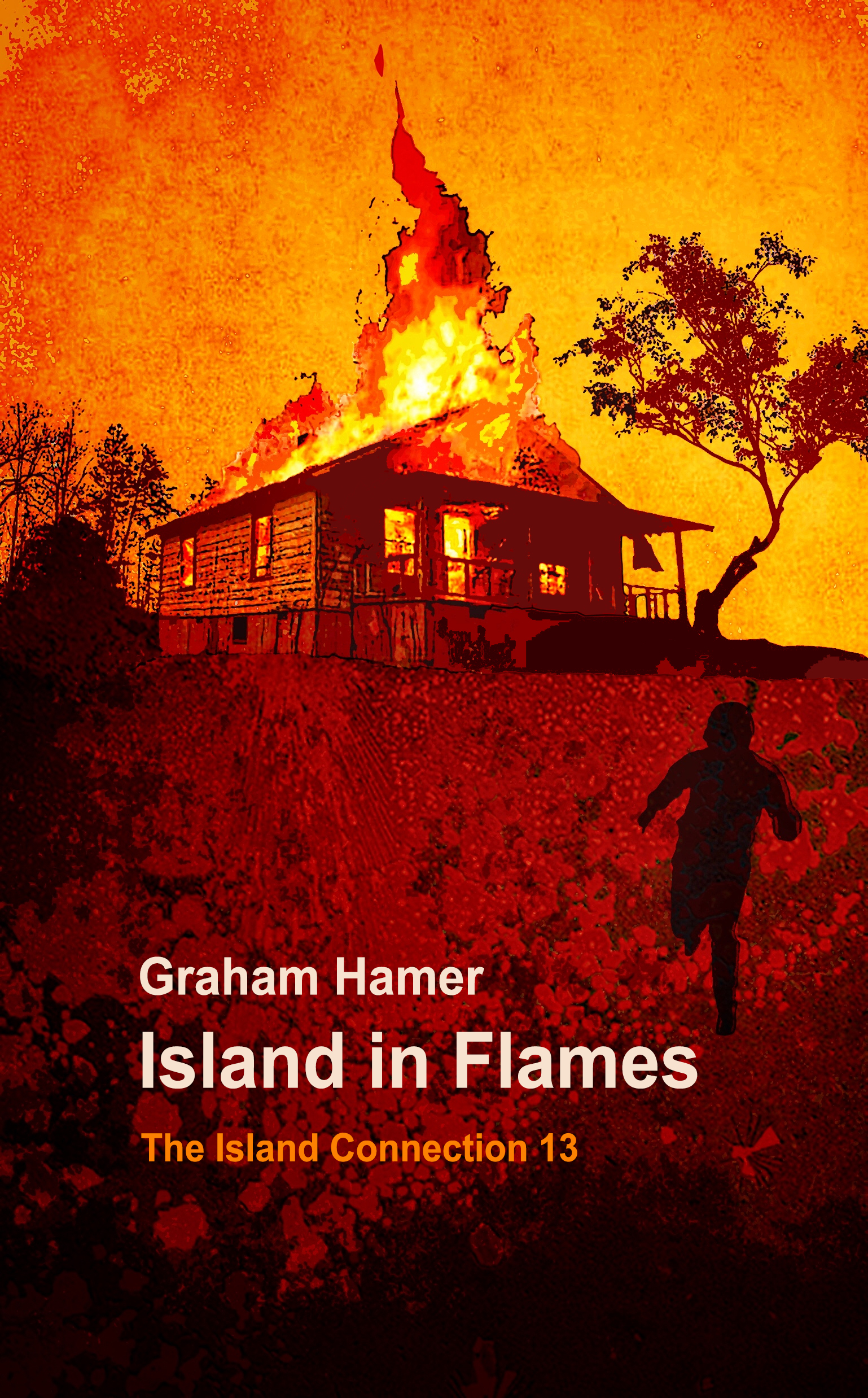 Graham Hamer's Books - Island in Flames in the Island Connection series